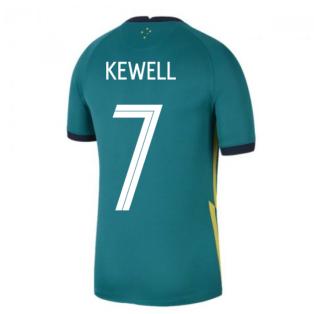 2020-2021 Australia Away Shirt (KEWELL 7)