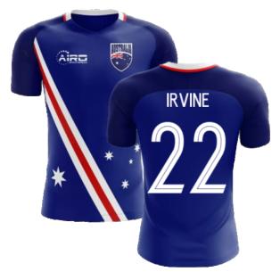 2020-2021 Australia Flag Away Concept Football Shirt (Irvine 22)