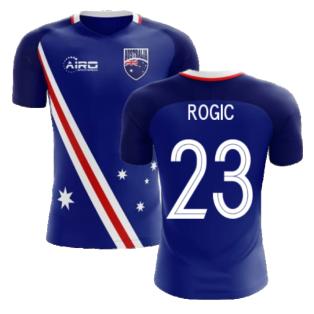 2020-2021 Australia Flag Away Concept Football Shirt (Rogic 23)
