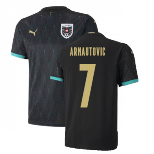 2020-2021 Austria Away Puma Football Shirt (ARNAUTOVIC 7)