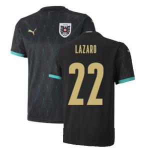 2020-2021 Austria Away Puma Football Shirt (LAZARO 22)