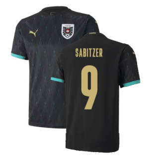 2020-2021 Austria Away Puma Football Shirt (SABITZER 9)