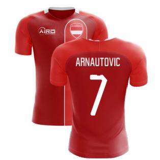 2020-2021 Austria Home Concept Football Shirt (ARNAUTOVIC 7)