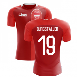 2020-2021 Austria Home Concept Football Shirt (BURGSTALLER 19)