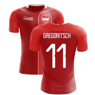 2020-2021 Austria Home Concept Football Shirt (GREGORITSCH 11)
