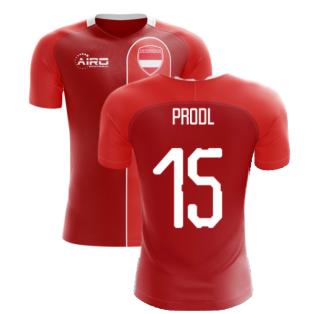 2020-2021 Austria Home Concept Football Shirt (PRODL 15)