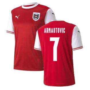 2020-2021 Austria Home Puma Football Shirt (ARNAUTOVIC 7)