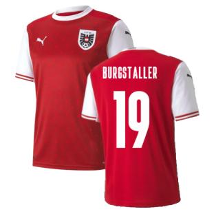 2020-2021 Austria Home Puma Football Shirt (BURGSTALLER 19)