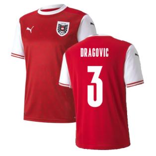 2020-2021 Austria Home Puma Football Shirt (DRAGOVIC 3)
