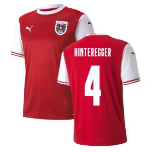 2020-2021 Austria Home Puma Football Shirt (HINTEREGGER 4)