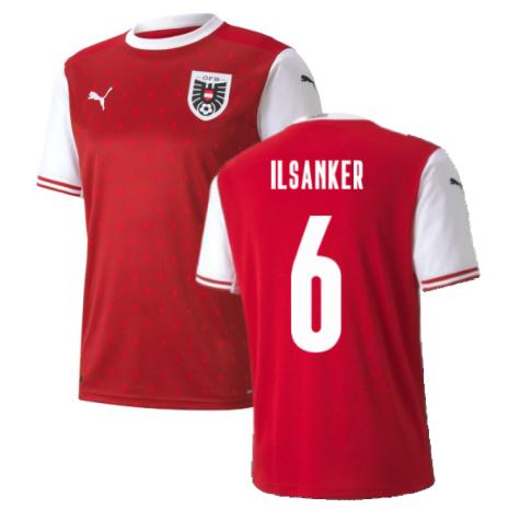 2020-2021 Austria Home Puma Football Shirt (ILSANKER 6)