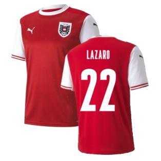 2020-2021 Austria Home Puma Football Shirt (LAZARO 22)