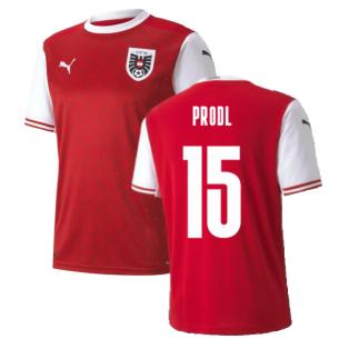 2020-2021 Austria Home Puma Football Shirt (PRODL 15)