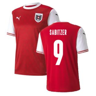 2020-2021 Austria Home Puma Football Shirt (SABITZER 9)
