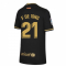 2020-2021 Barcelona Away Nike Shirt (Kids) (F DE JONG 21)