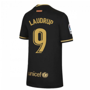 2020-2021 Barcelona Away Nike Shirt (Kids) (LAUDRUP 9)