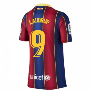 2020-2021 Barcelona Home Shirt (Kids) (LAUDRUP 9)