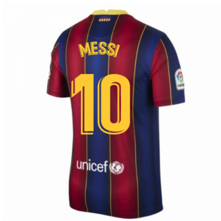 2020-2021 Barcelona Home Shirt (MESSI 10)