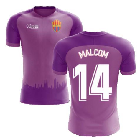 2020-2021 Barcelona Third Concept Football Shirt (Malcom 14)