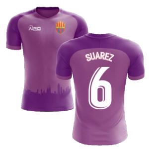 2020-2021 Barcelona Third Concept Football Shirt (Suarez 6)