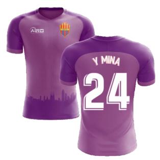 2020-2021 Barcelona Third Concept Football Shirt (Y Mina 24) - Kids