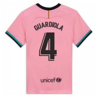 2020-2021 Barcelona Third Shirt (Ladies) (GUARDIOLA 4)