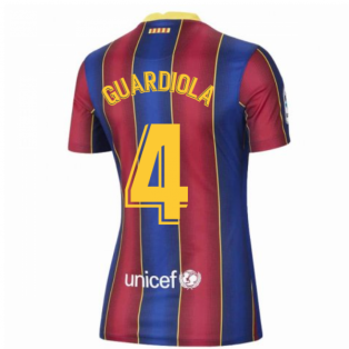 2020-2021 Barcelona Womens Home Shirt (GUARDIOLA 4)