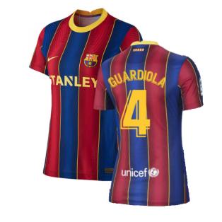 2020-2021 Barcelona Womens Home Shirt (GUARDIOLA 4)