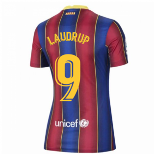 2020-2021 Barcelona Womens Home Shirt (LAUDRUP 9)