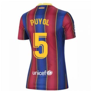 2020-2021 Barcelona Womens Home Shirt (PUYOL 5)