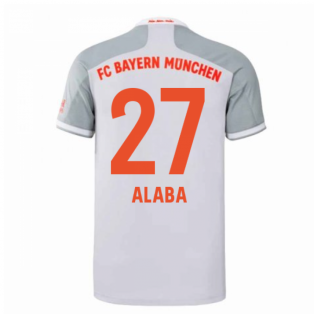 2020-2021 Bayern Munich Adidas Away Football Shirt (ALABA 27)