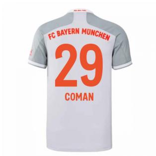 2020-2021 Bayern Munich Adidas Away Football Shirt (COMAN 29)