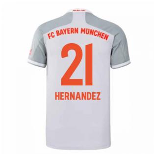 2020-2021 Bayern Munich Adidas Away Football Shirt (HERNANDEZ 21)