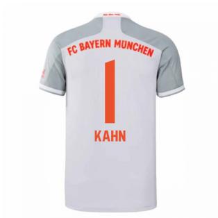 2020-2021 Bayern Munich Adidas Away Football Shirt (KAHN 1)