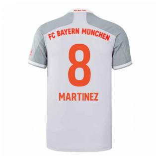 2020-2021 Bayern Munich Adidas Away Football Shirt (MARTINEZ 8)