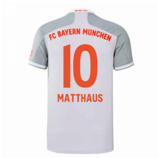 2020-2021 Bayern Munich Adidas Away Football Shirt (MATTHAUS 10)