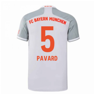 2020-2021 Bayern Munich Adidas Away Football Shirt (PAVARD 5)