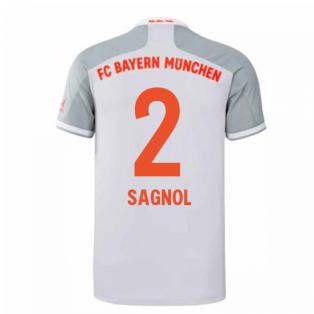 2020-2021 Bayern Munich Adidas Away Football Shirt (SAGNOL 2)