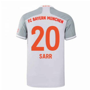 2020-2021 Bayern Munich Adidas Away Football Shirt (SARR 20)