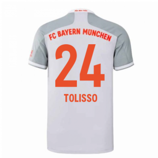 2020-2021 Bayern Munich Adidas Away Football Shirt (TOLISSO 24)