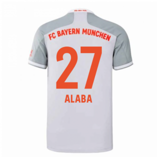 2020-2021 Bayern Munich Adidas Away Shirt (Kids) (ALABA 27)