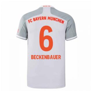 2020-2021 Bayern Munich Adidas Away Shirt (Kids) (BECKENBAUER 6)