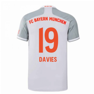 2020-2021 Bayern Munich Adidas Away Shirt (Kids) (DAVIES 19)