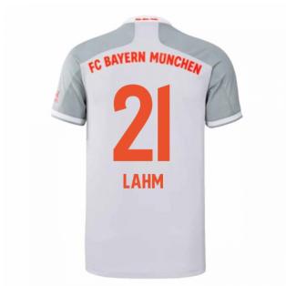 2020-2021 Bayern Munich Adidas Away Shirt (Kids) (LAHM 21)