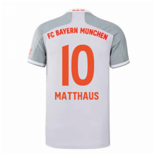 2020-2021 Bayern Munich Adidas Away Shirt (Kids) (MATTHAUS 10)