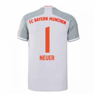 2020-2021 Bayern Munich Adidas Away Shirt (Kids) (NEUER 1)