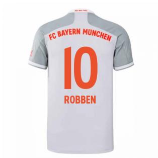 2020-2021 Bayern Munich Adidas Away Shirt (Kids) (ROBBEN 10)