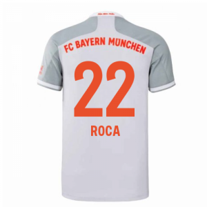 2020-2021 Bayern Munich Adidas Away Shirt (Kids) (ROCA 22)