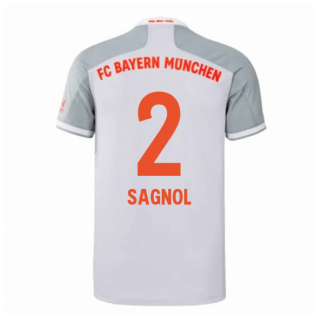 2020-2021 Bayern Munich Adidas Away Shirt (Kids) (SAGNOL 2)
