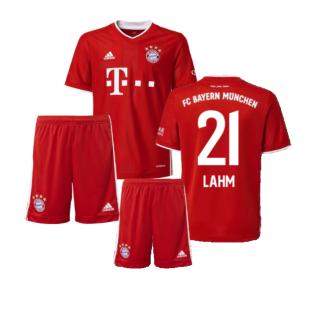 2020-2021 Bayern Munich Adidas Home Little Boys Mini Kit (LAHM 21)